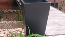slide y pot vase outdoor