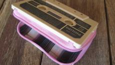 Cassette de musique transformée en porte-monaie