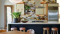 briques en coloris utilises dans les annees 70