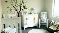 11 décoration avec stickers muraux spécial chambre bébé