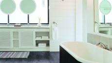 Salle de bain dans une des suite de luxe