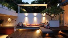 Voici comment on peut utiliser un luminaire jardin