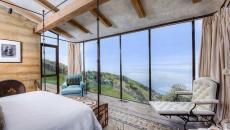 Une des chambres à la vue panoramique