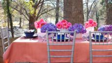 décoration florale printanière