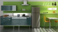 cuisine design vert