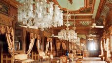 L'aspect royal fait partie intégrale du décor