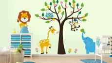 12 décoration avec stickers muraux spécial chambre bébé