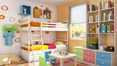 Décoration chambre enfant aux couleurs pétillantes