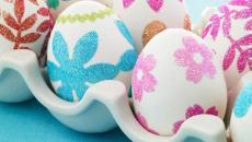 idées Pâques déco des œufs aux fleurs