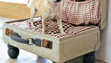 ancienne valise déco design de récup