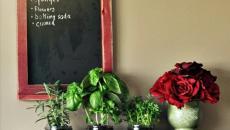 étagère aux herbes aromatiques
