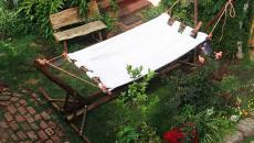 hamacs mobilier de jardin rustique