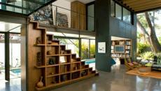 style industriel salon séjour living moderne
