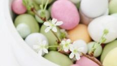œufs peints pastel idées déco Pâques