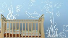 14 décoration avec stickers muraux spécial chambre bébé