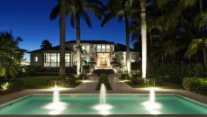 Merveilleux Maison De Prestige En Floride Vue De Nuit