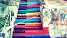 Escalier street art à Beyrouth - Liban