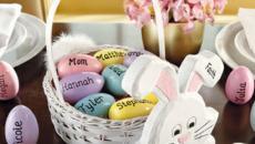 panier très déco de Pâques