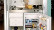 Jolie kitchenette au design compact