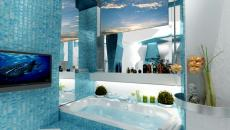 Design original d'une salle de bain unique