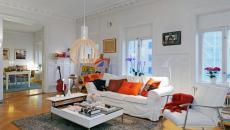 Ambiance créative, meuble design et couleurs flashy