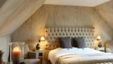 Style minimaliste et design sobre dans la chambre à couher