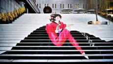 Escalier street art à Séoul - Corée du Sud