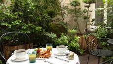 hotel de luxe a Paris jardin
