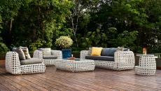 salon outdoor jardin de Kenneth Cobonpue