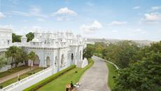 Le palace aussi surnommé « le miroir du ciel »