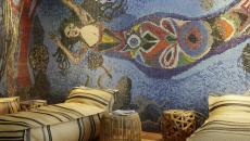 œuvre d'art dans l'hôtel 25 hours à Vienne