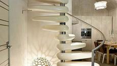Design et chic pour cet escalier d'intérieur
