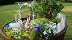 16 réaliser un joli mini jardin