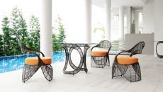mobilier extérieur salon de jardin design signé Kenneth Cobonpue