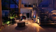 salon magnifique très moderne