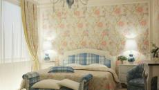 chambre style british cottage