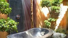 baignoire en plein air