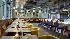 restaurant de l'hôtel 25 hours à Vienne
