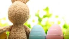 Pâques et le messager des œufs