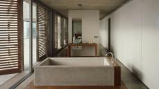Baignoire Design Béton Moderne