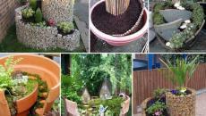 19 réaliser un joli mini jardin