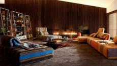 Séjour design au canapé moderne