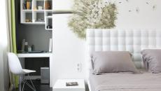 Décoration de chambre minimaliste et épurée
