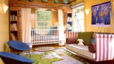 Thème découverte pour cette décoration chambre enfant
