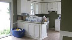 la cuisine avant rénovation