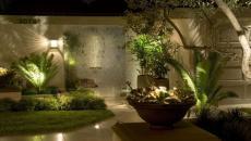 Illuminez le jardin intérieur pour sublimer l'ambiance