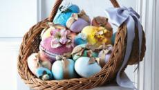 panier à œufs de pâques