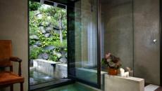 baignoire design encastrée sol