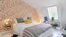 Chambre à coucher design scandinave