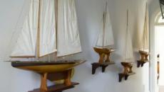 Décoration en bateaux des couloirs